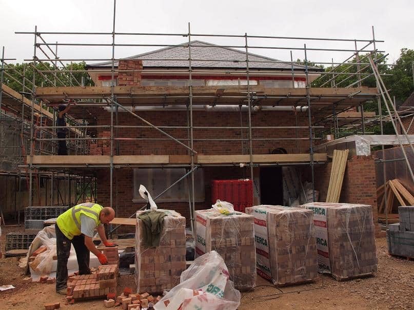 Timber Frame House With Brick Cladding 109 - Vision Development