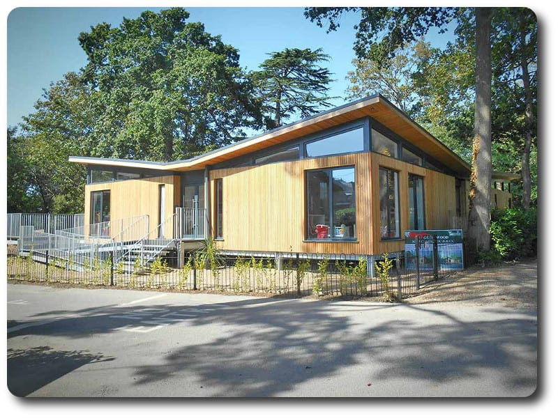 Closed Panel Timber Frame School Classroom in Dorset