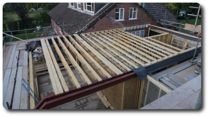 Joists for Flooring Installed