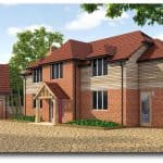 Timber Frame Development in Woodcote