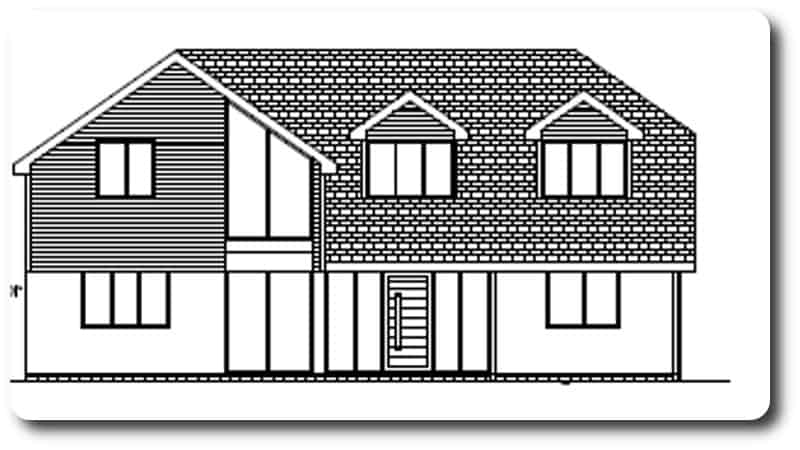 Front of Property Drawing