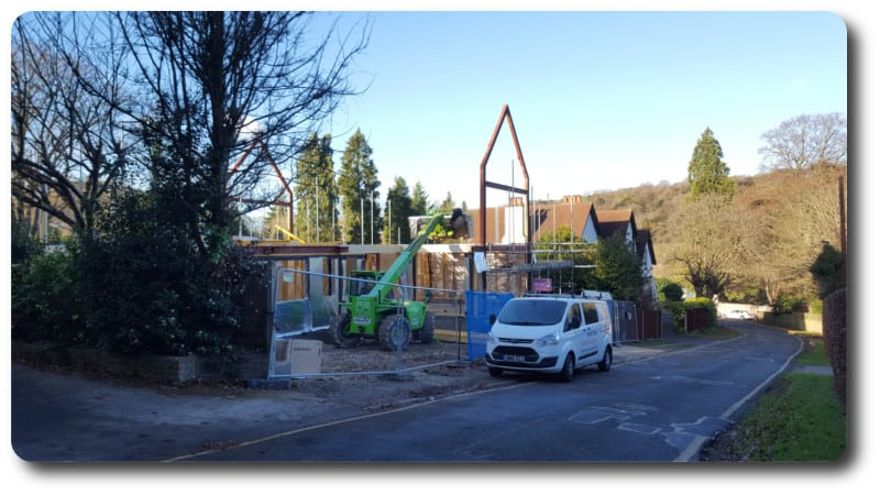 New Build Timber Frame Home in South Croydon