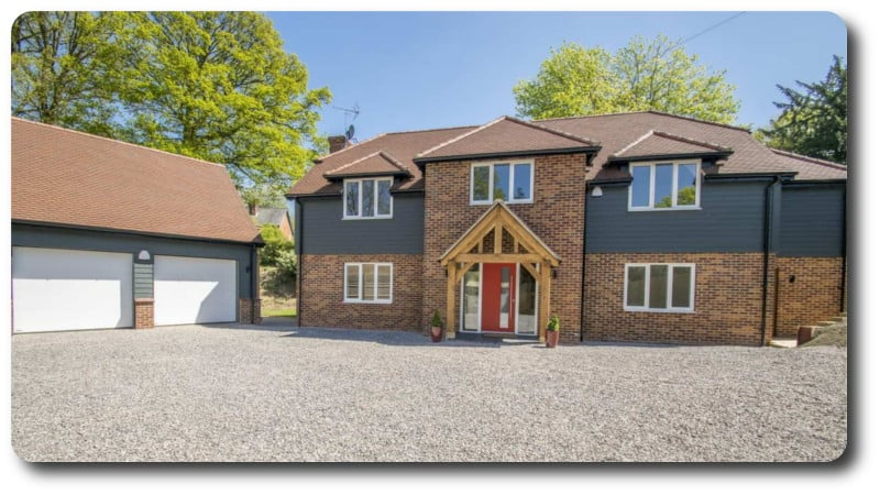 New Build Timber Frame House for Sale