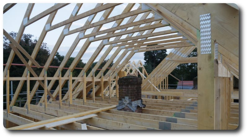 Trussed Rafters for Roof