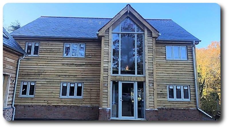 Self Build House in Bradfield West Berkshire