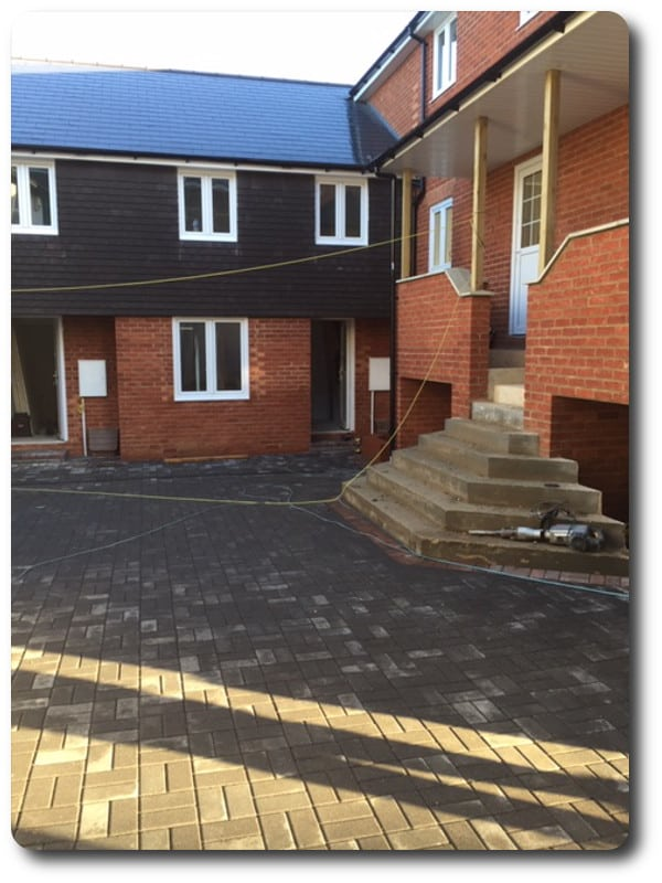 Timber Frame Terrace Houses and Maisonettes in Thatcham