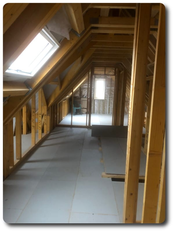 New Build Closed Panel Timber Frame House in Cold Ash, Berkshire
