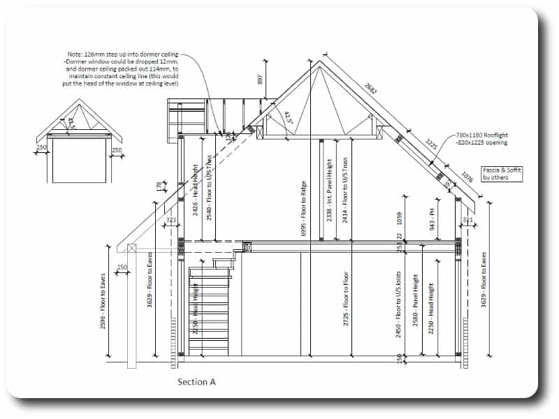 Closed Panel Timber Frame Kit House in Oxfordshire