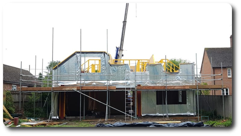 New Timber Frame home in Hermitage Berkshire