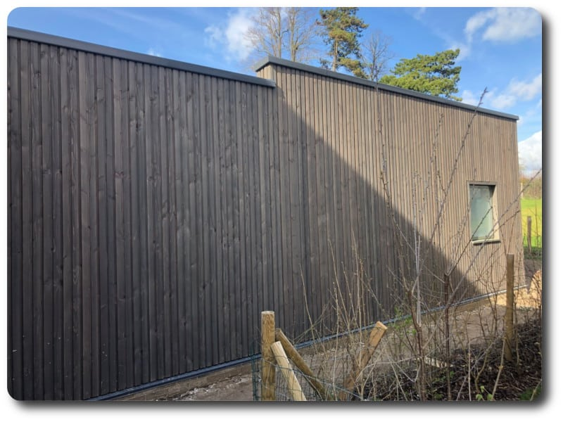 Single Storey Extension to Modern Timber Frame Home in Winchester