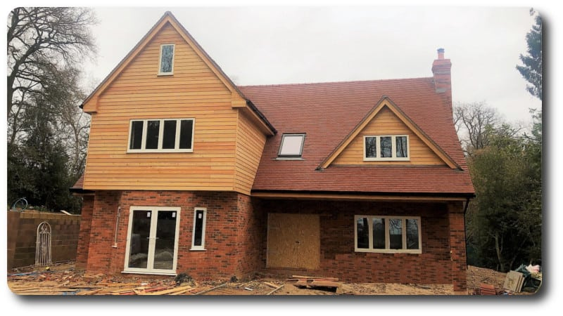 Timber Frame for Graven Hill Self Build Homes