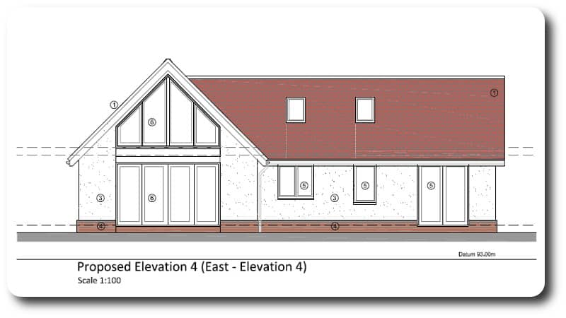Architect Drawing for Extension