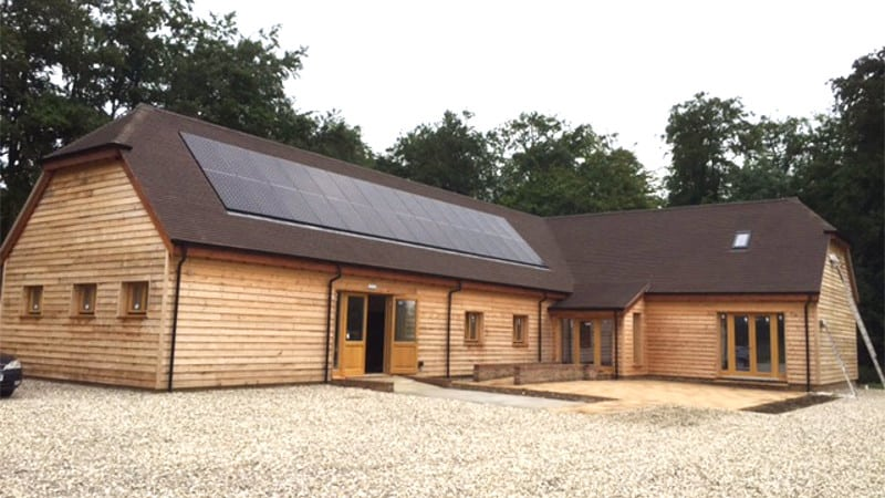 New Timber Frame Office Building
